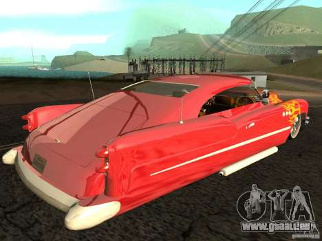 Buick Custom 1950 LowRider 1.0 pour GTA San Andreas laissé vue