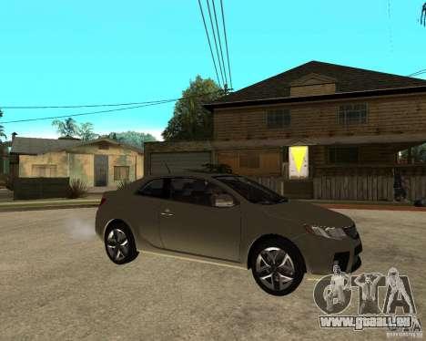 KIA Forte Coup für GTA San Andreas rechten Ansicht