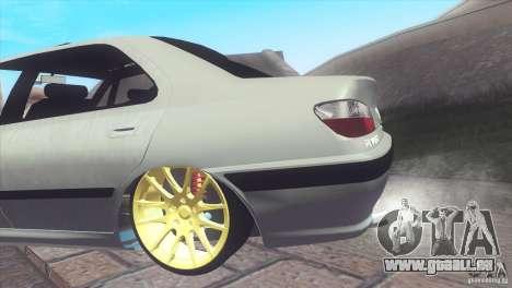 Peugeot 406 Rat Style pour GTA San Andreas vue de droite