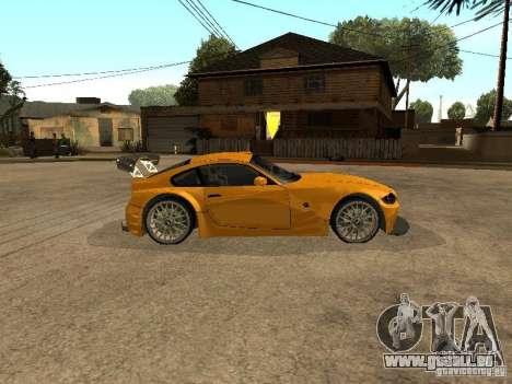 BMW Z4 Style Tuning für GTA San Andreas linke Ansicht
