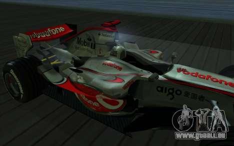 McLaren F1 für GTA San Andreas rechten Ansicht