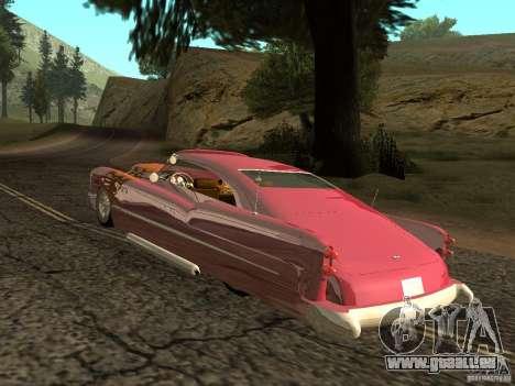 Buick Custom 1950 LowRider 1.0 für GTA San Andreas rechten Ansicht