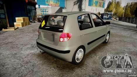 Hyundai Getz 2005 für GTA 4 Innenansicht