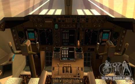 Boeing-747 Corsair Fly pour GTA San Andreas laissé vue