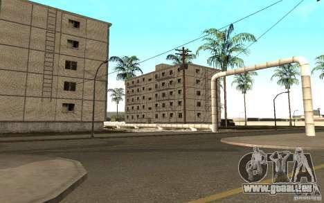 Une petite ville russe sur la rue Grove pour GTA San Andreas cinquième écran