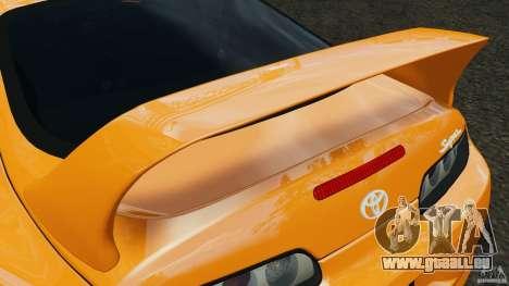 Toyota Supra Tuning für GTA 4-Motor