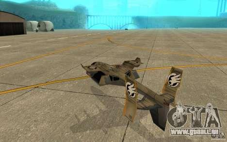 Orca Air Command and Conquer 3 für GTA San Andreas rechten Ansicht