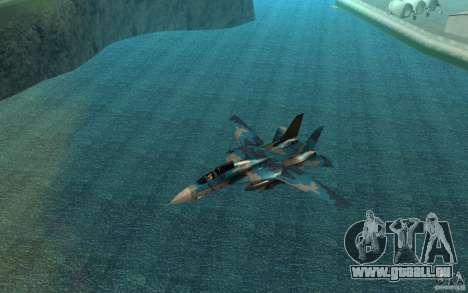 F-14 Tomcat Blue Camo Skin für GTA San Andreas