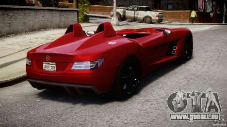 Mercedes-Benz SLR McLaren Stirling Moss [EPM] pour GTA 4 est un côté