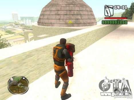 Gordon Freemen pour GTA San Andreas troisième écran