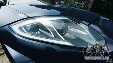 Jaguar XKR-S Trinity Edition 2012 v1.1 pour GTA 4 roues