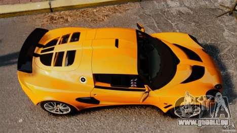Lotus Exige 240 CUP 2006 pour GTA 4 est un droit