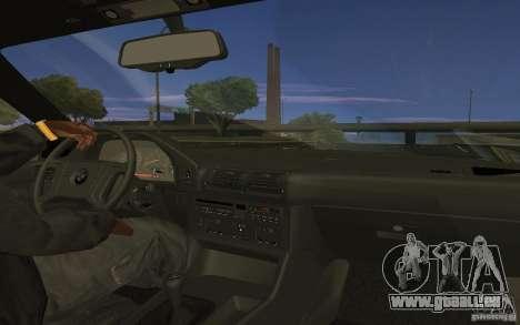 BMW 525 E34 V.3 für GTA San Andreas zurück linke Ansicht