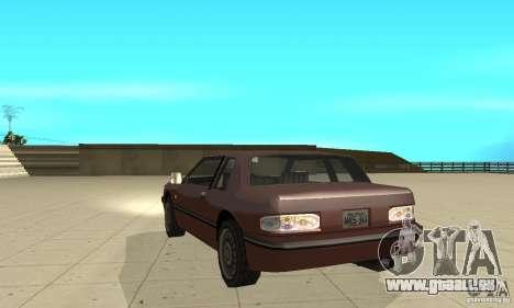 New lights and crash pour GTA San Andreas cinquième écran