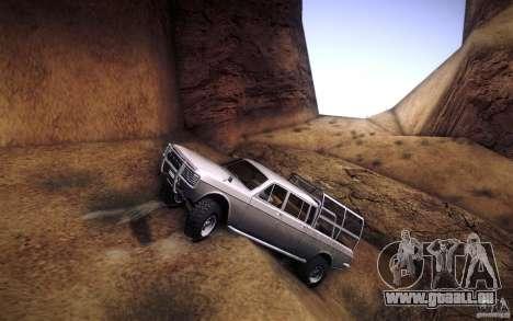 GAZ 2402 4 x 4 PickUp für GTA San Andreas Motor