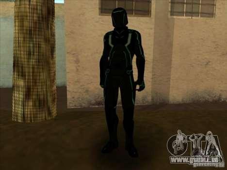 Un personnage du jeu Tron : Evolution pour GTA San Andreas sixième écran