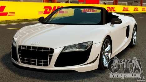 Audi R8 GT Spyder 2012 für GTA 4