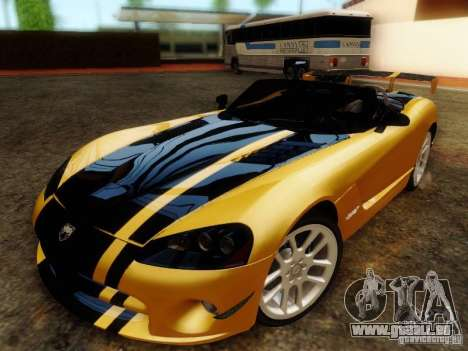 Dodge Viper SRT-10 Roadster ACR 2004 pour GTA San Andreas