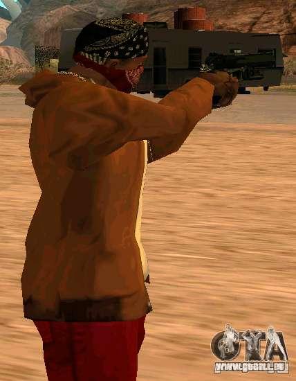 MW2 Deagle pour GTA San Andreas deuxième écran