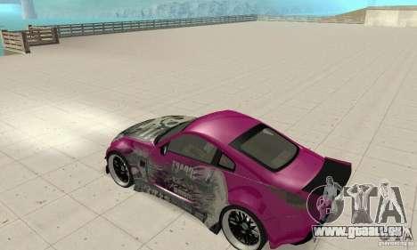 Nissan 350Z Tuning pour GTA San Andreas vue arrière