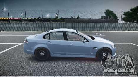 Holden Commodore (FBINOoSE) pour GTA 4 est une vue de l'intérieur