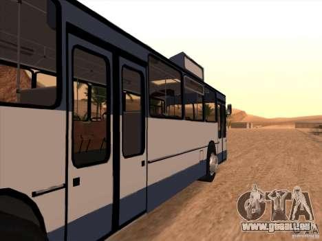 MAN SL200 Exclusive v.1.00 pour GTA San Andreas vue de droite