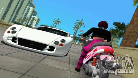 Suzuki Address 110 Custom Ver.1.3 für GTA Vice City zurück linke Ansicht