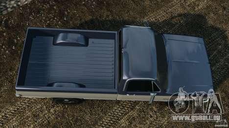 Chevrolet Silverado 1986 pour GTA 4 est un droit