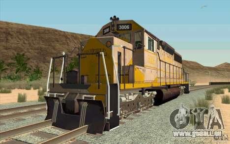 Clinchfield SD40 (Yellow & Grey) für GTA San Andreas