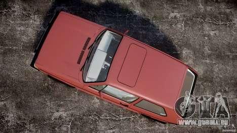 Volkswagen Rabbit 1986 pour GTA 4 est un droit