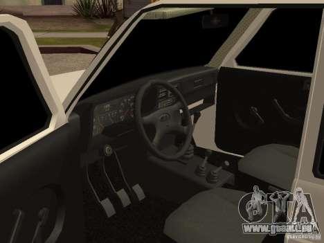 VAZ 2131 pour GTA San Andreas vue arrière