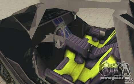 Halo Warthog pour GTA San Andreas vue de côté