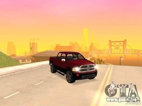 Dodge Ram 2010 für GTA San Andreas