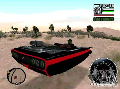 Carhealth-Licht-Schaden für GTA San Andreas