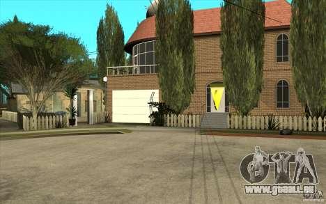 New Grove Street TADO edition pour GTA San Andreas troisième écran