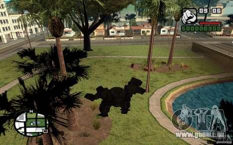 Exosquelette pour GTA San Andreas quatrième écran
