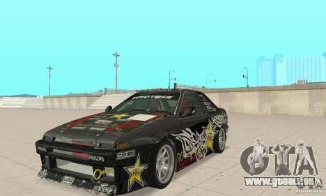 Toyota AE86wrt Rockstar pour GTA San Andreas