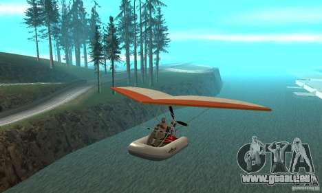 Wingy Dinghy (Crazy Flying Boat) pour GTA San Andreas