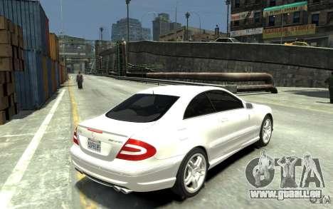 Mercedes-Benz CLK55 AMG 2003 v1 für GTA 4 rechte Ansicht