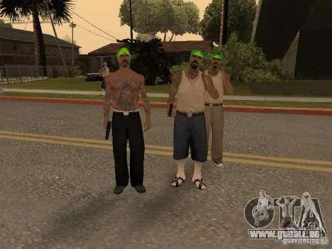 Vagosy-Grove pour GTA San Andreas deuxième écran