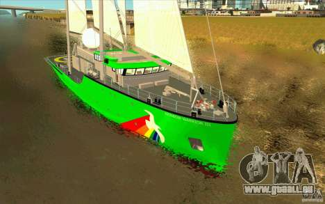 Rainbow Warrior für GTA San Andreas