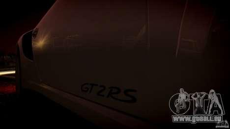 Porsche 911 GT2 RS 2012 für GTA 4 Innenansicht