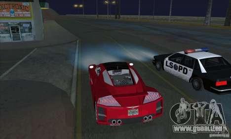 Xenon-Scheinwerfer (Xenon-Scheinwerfer) für GTA San Andreas zweiten Screenshot