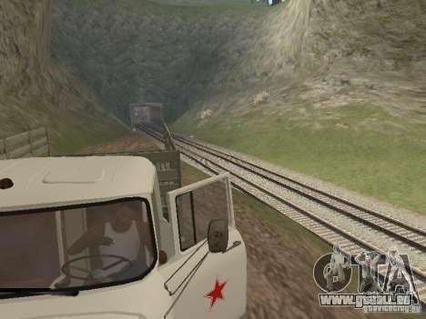 ZIL 131 Main für GTA San Andreas Rückansicht