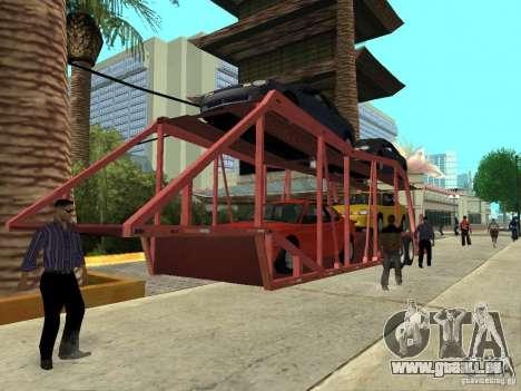 American Trailers Pack für GTA San Andreas