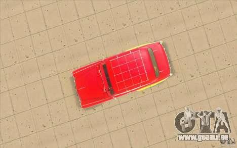 Moskvich 407 pour GTA San Andreas vue intérieure