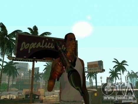 RPG de BF2 pour GTA San Andreas troisième écran