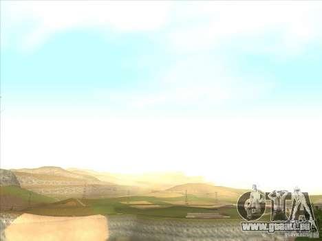 ENBSeries pour PC moyen et faible pour GTA San Andreas troisième écran