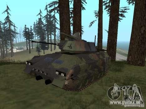 M2A3 Bradley pour GTA San Andreas