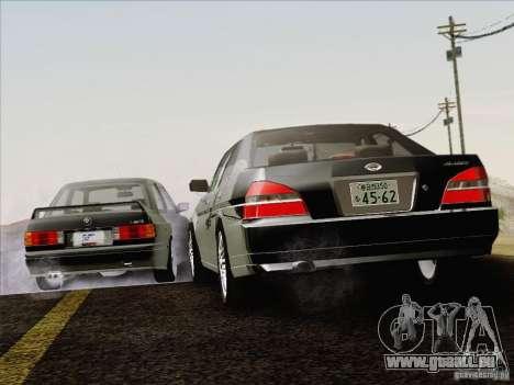 Nissan Laurel GC35 Kouki Unmarked Police Car für GTA San Andreas obere Ansicht